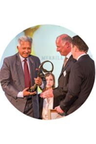 MEPA Award - 2019Oslo Business for Peace - 2015