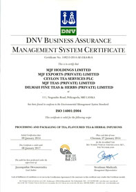 ISO 14001:2004 – Environmental Management System Standard